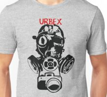 Urban Exploration UrbEx Gas Mask Skull Unisex T-Shirt