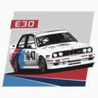 e30 WTCC Race Car by ApexFibers