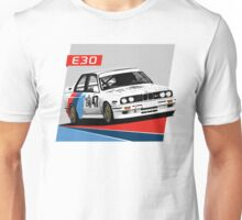 e30 WTCC Race Car Unisex T-Shirt