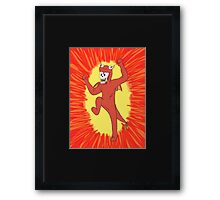 The Great Papy-Dragon! Framed Print