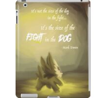 Fight in the Dog iPad Case/Skin