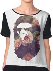 BAPE Floral Chiffon Top