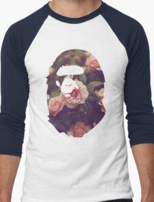 BAPE Floral Men's Baseball ¾ T-Shirt
