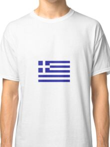 GREEK FLAG Classic T-Shirt