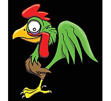 CARTOON ROOSTER Photographic Print
