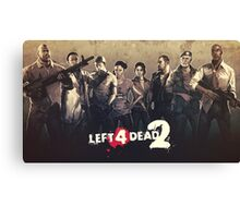 Left 4 Dead 2 Characters Canvas Print