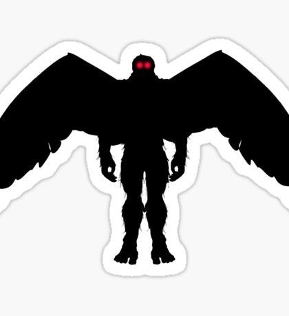 THE MOTH MAN Sticker