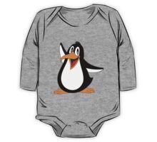 Penguin Shirt One Piece - Long Sleeve