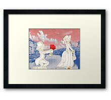 Lover of the Word Unrequited  Framed Print