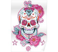 Life is strange Max skull, transparent Poster
