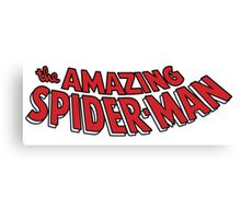 The Amazing Spider-Man! Canvas Print
