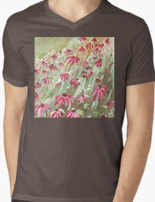 Daisy fields Mens V-Neck T-Shirt