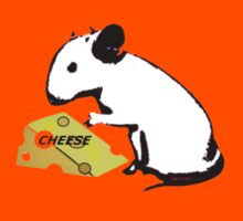 Mouse and Cheese Kids Tee