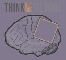 Think Outside the Voxel Kids Tee