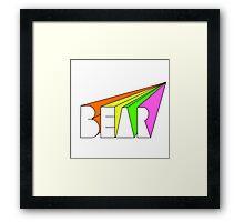 Bear Films Framed Print