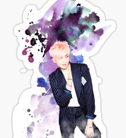 BTS-Rap Monster Purple Sticker