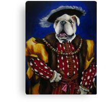 The English Bulldog Canvas Print
