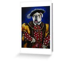 The English Bulldog Greeting Card