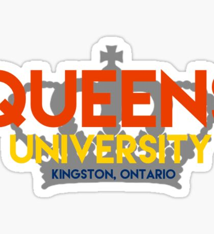 Queen's with crown Sticker
