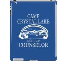 Camp Crystal Lake Counselor iPad Case/Skin