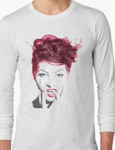 Amanda Palmer Edited Album Cover Long Sleeve T-Shirt