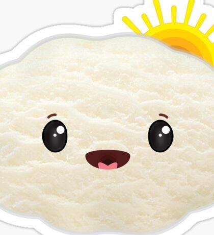 Happy Sunny Cloud Sticker