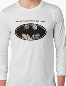 Dog and Cat Man Long Sleeve T-Shirt