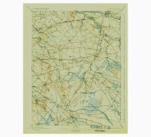 USGS TOPO Map New Jersey NJ Mount Holly 255283 1898 62500 Baby Tee