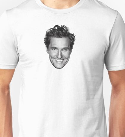 Matthew McConaugbae Unisex T-Shirt