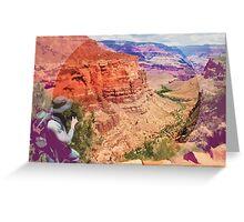 Bright Angel Trail, Arizona _ American Cutouts Greeting Card