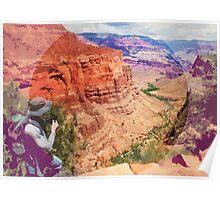 Bright Angel Trail, Arizona _ American Cutouts Poster