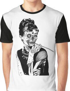 zombies audrey hepburn evil dead zombie Graphic T-Shirt