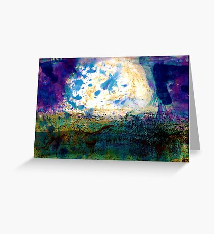 Otherworldly Landscapes Greeting Card