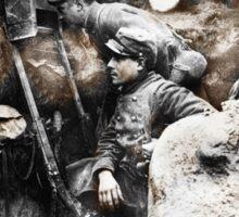 Soldiers Use Periscope Battlefield Sticker