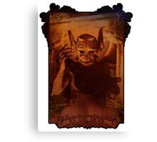 XV THE DEVIL Canvas Print