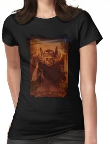 XV THE DEVIL Womens Fitted T-Shirt