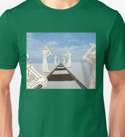 Immigrants on the Railroad  Unisex T-Shirt