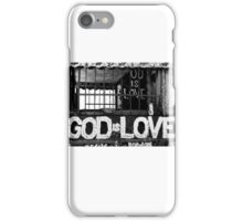 God Is Love Photo iPhone Case/Skin