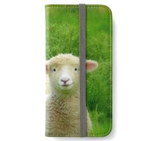 The Red Bubble Definition of Cute! - Lambs - NZ iPhone Wallet/Case/Skin