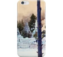 Morning Glory Trail, Wyoming _ American Cutouts iPhone Case/Skin