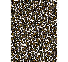 Brown Leopard Abstract Pattern  Photographic Print