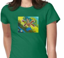 Sabrina Spring Kisses Womens Fitted T-Shirt