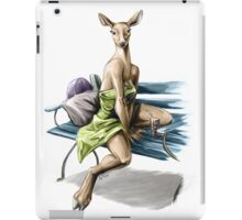 Bench - Anthro Doe Pin Up Girl iPad Case/Skin