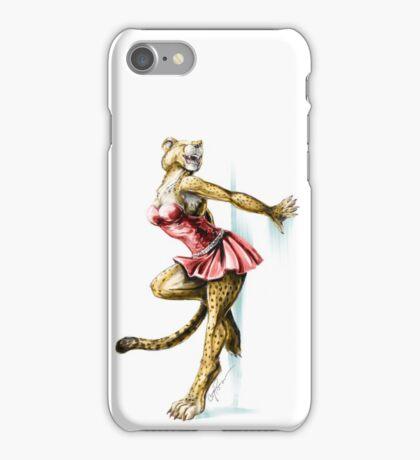 Anklet - Anthro Cheetah Girl Pin Up iPhone Case/Skin