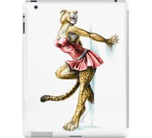 Anklet - Anthro Cheetah Girl Pin Up iPad Case/Skin