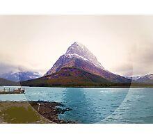 Many Glacier, Montana _ American Cutouts Photographic Print