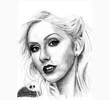 Christina Aguilera Drawing Unisex T-Shirt