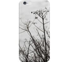 Black and White Branches iPhone Case/Skin