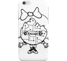 girl female woman lips ribbon sweet sexy cute robot cyborg technology future science fiction nice pink iPhone Case/Skin