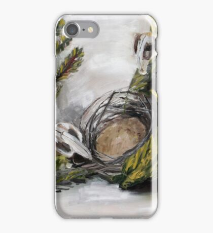 nesting possums iPhone Case/Skin